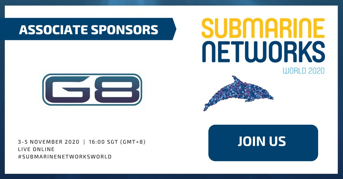 [SNW 2020 PRESS RELEASE] G8 SUBSEA as Host of Roundtable on Day 2 of Submarine Networks World 2020